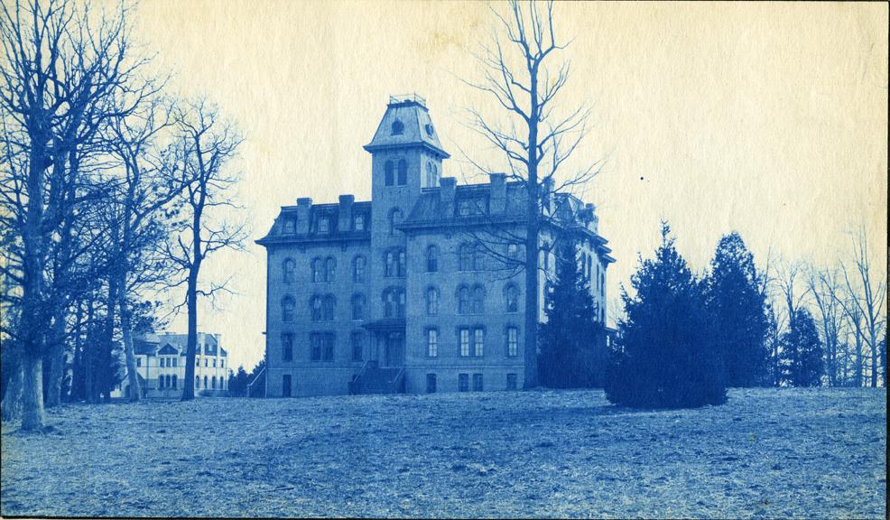 12. Williams Hall, circa 1888.