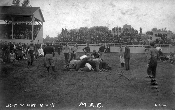 Intramural sports, Class of 1910 vs. Class of 1911