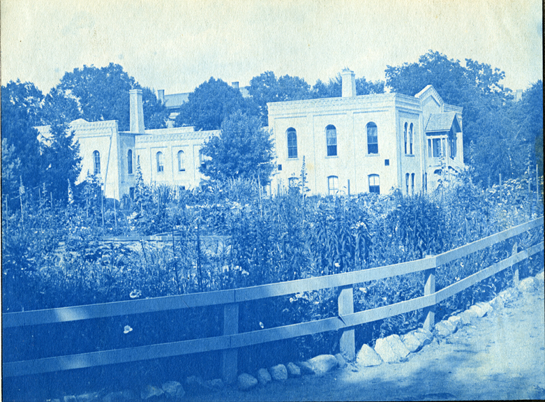 """24. Chemical Laboratory building also known as """"Chem Fort,"""" circa 1888."""