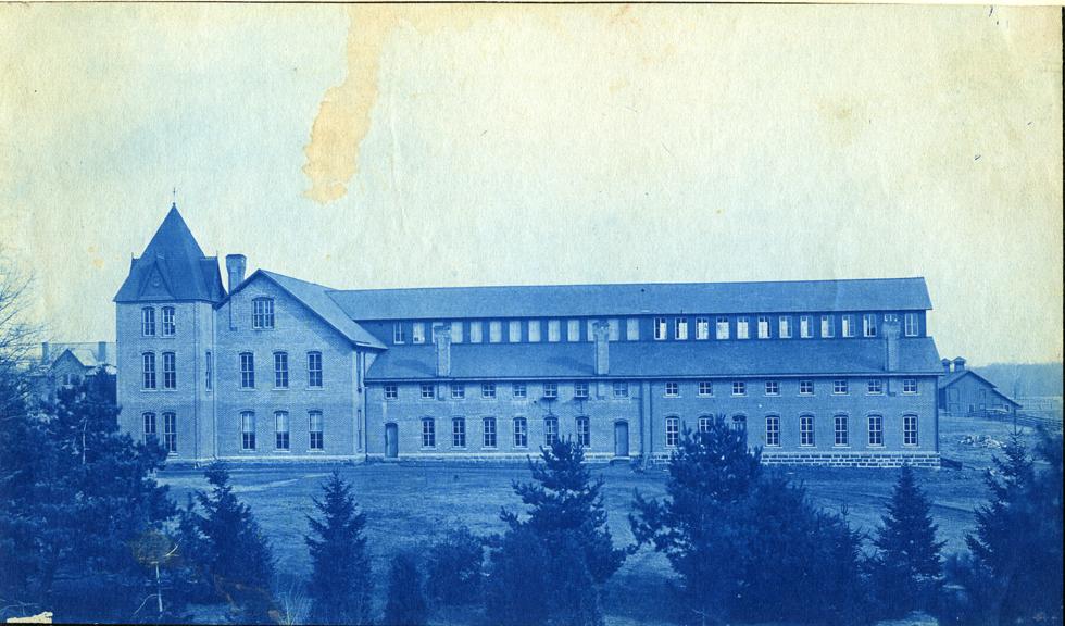 25. Mechanical Laboratory building, circa 1888.