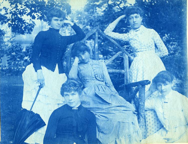 27. A group of women, circa 1888.