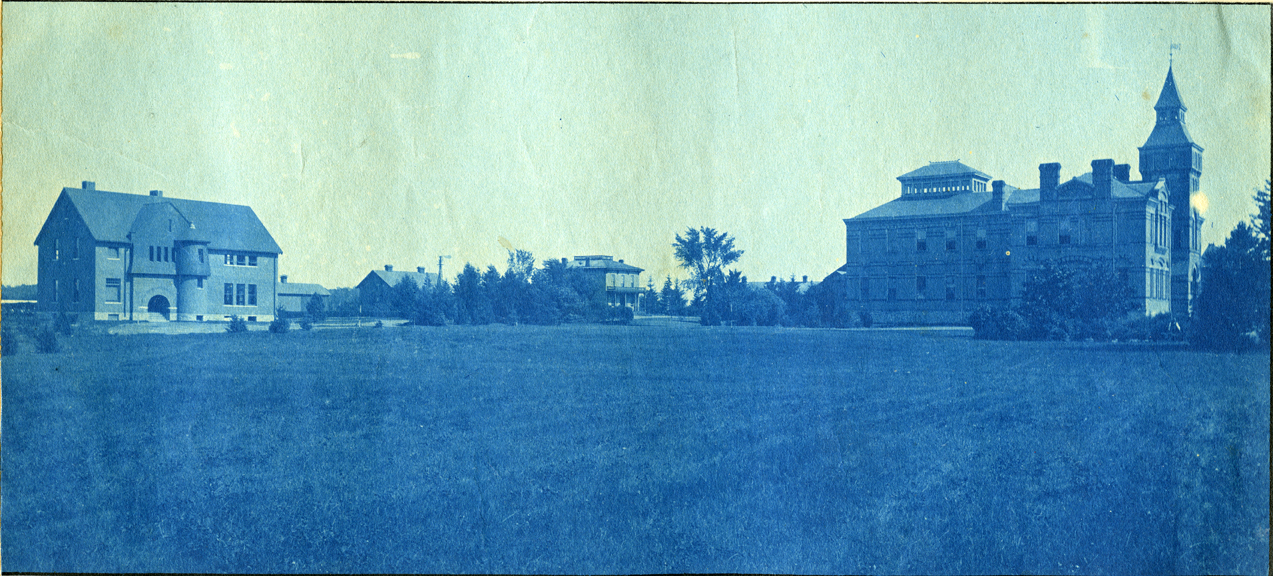 34. Linton Hall and Horticulture Laboratory (Eustace Cole Hall), circa 1888