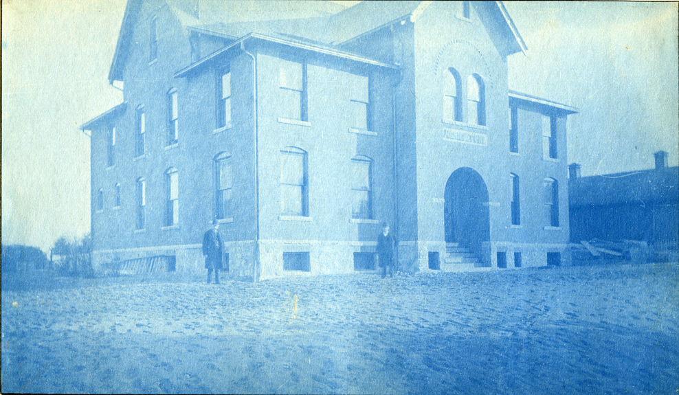 37. Agricultural Laboratory (now called Cook Hall,) circa 1888