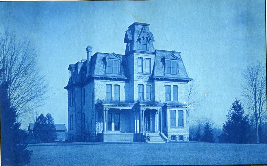 39. President's House, circa 1888.