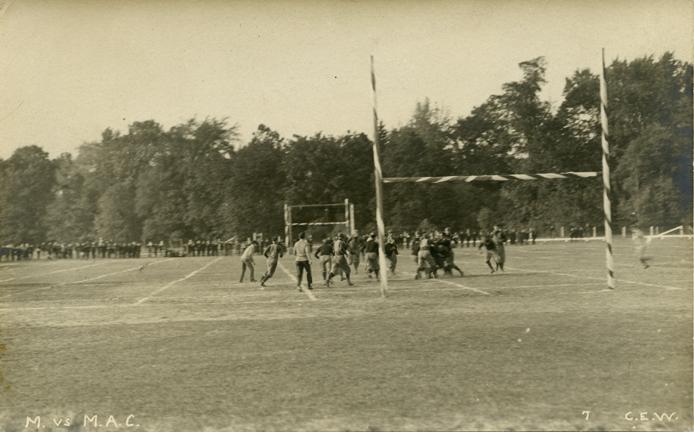 M.A.C.-University of Michigan football game, 1900s