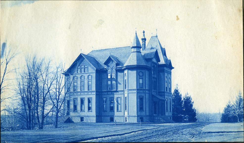 76. The Botanical Laboratory building, circa 1888.