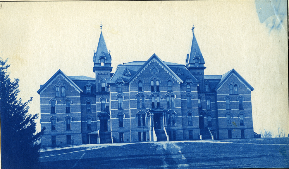 79. Wells Hall (1), circa 1888.