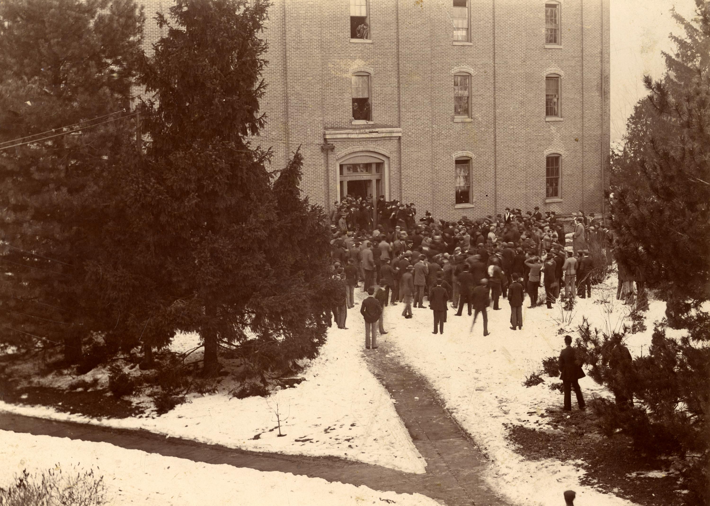 College Hall, circa 1897