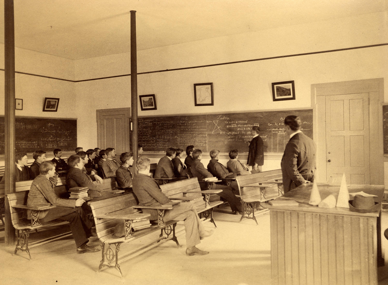 Mathematics Class, circa 1893