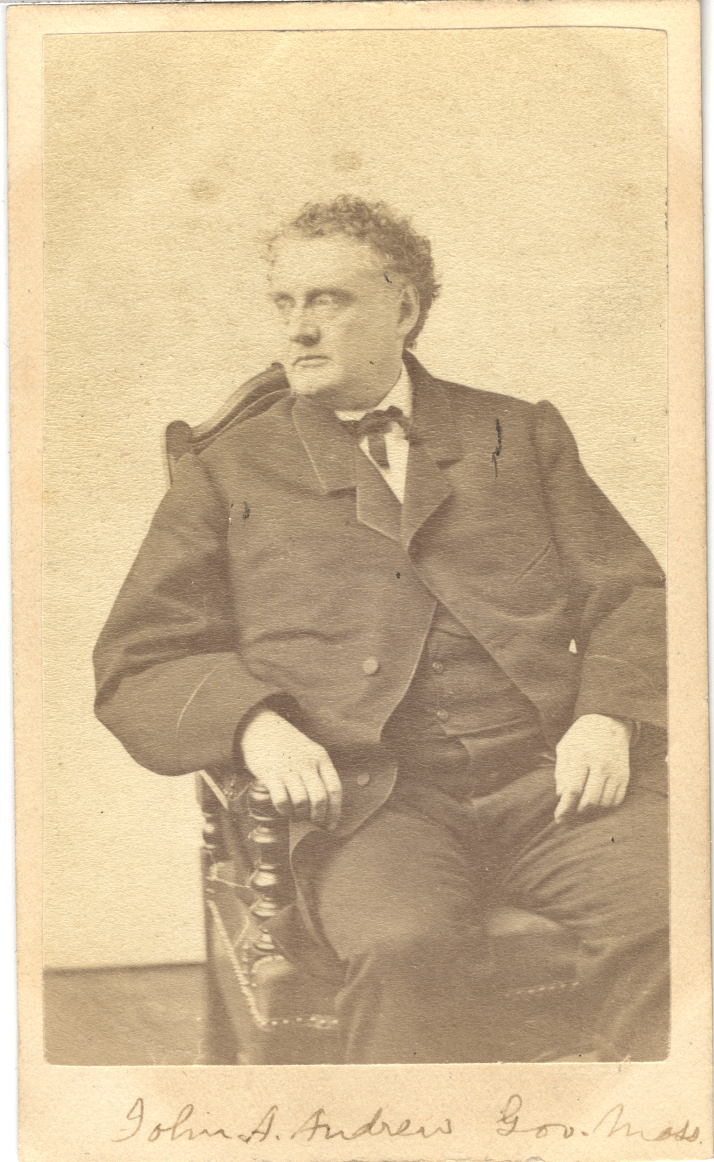 John A. Andrew, circa 1860