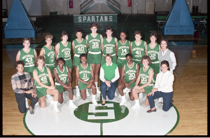 1986-87 Womens Basketball Team