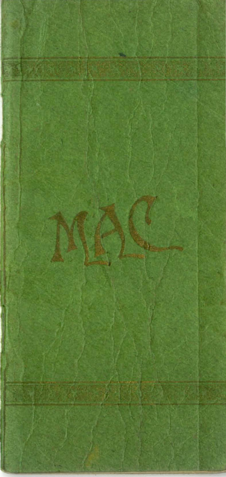 Student Handbook, 1899-1900