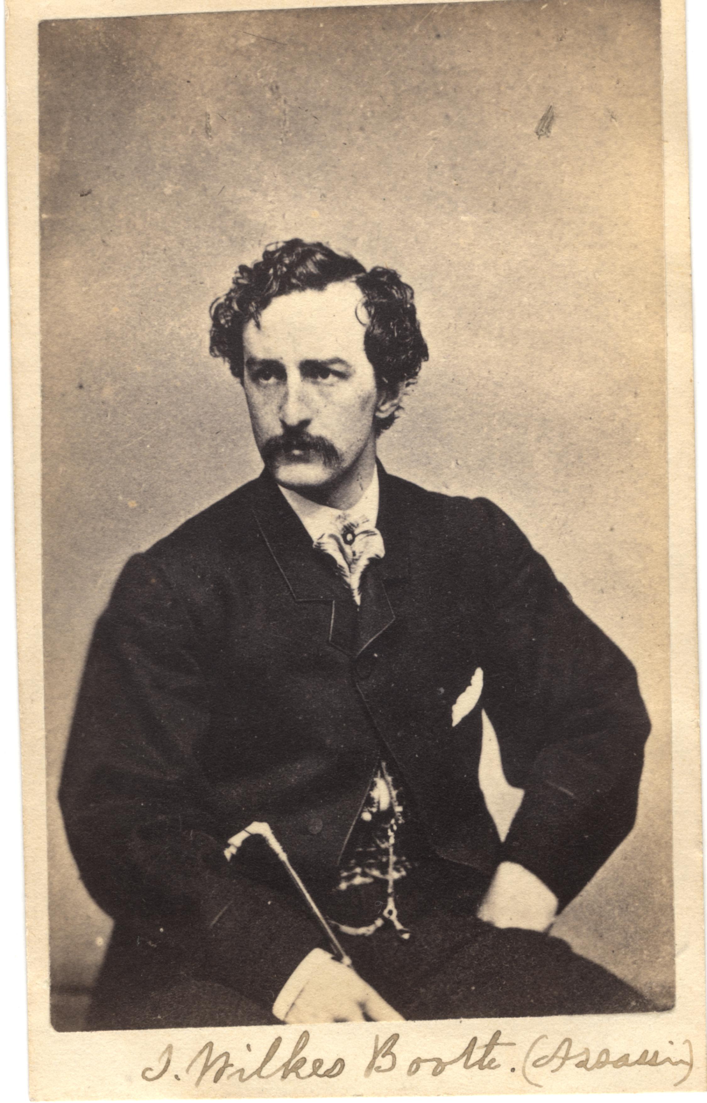 John Wilkes Booth, circa 1860s