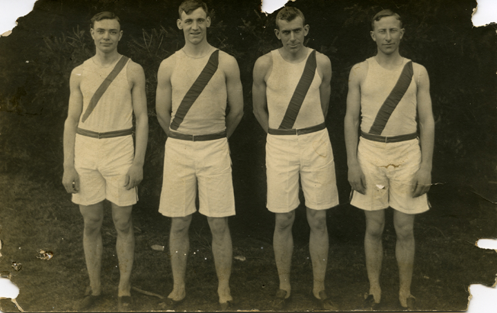 Members of the M.A.C. track team