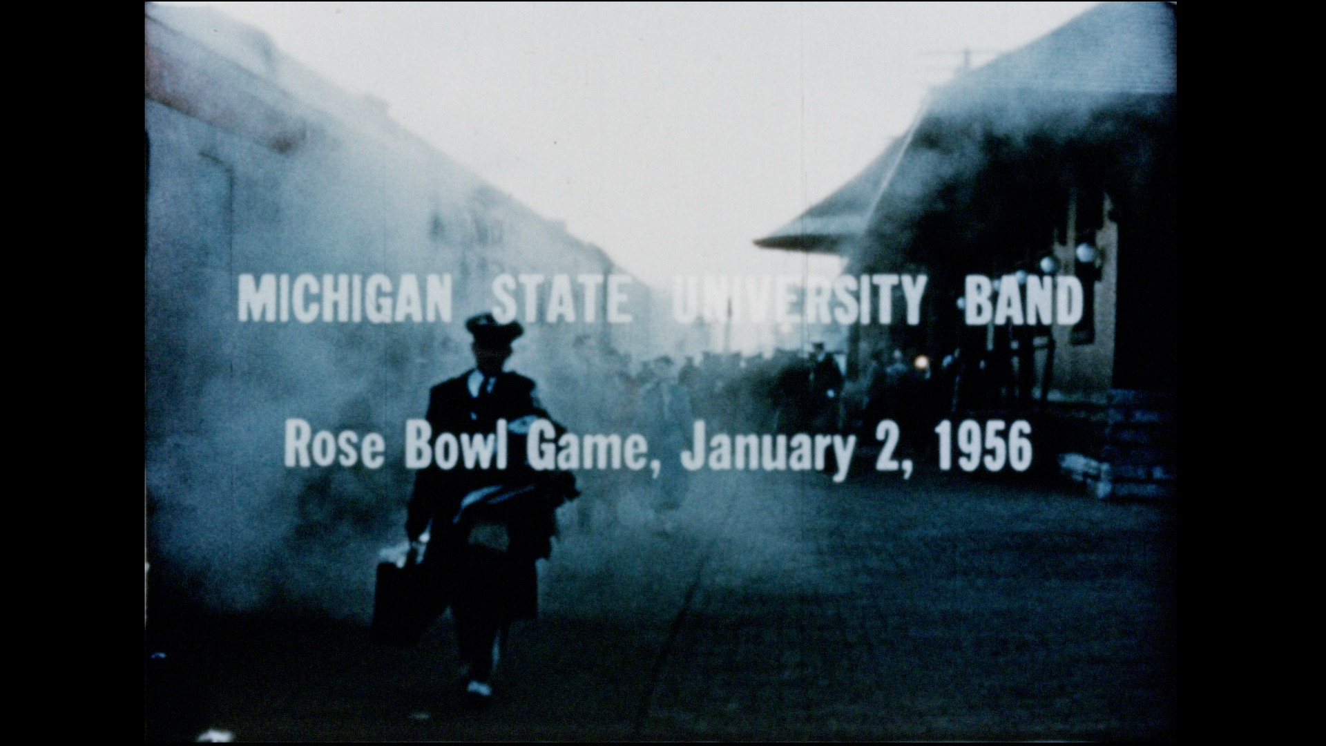 Michigan State University Band: Rose Bowl, 1956