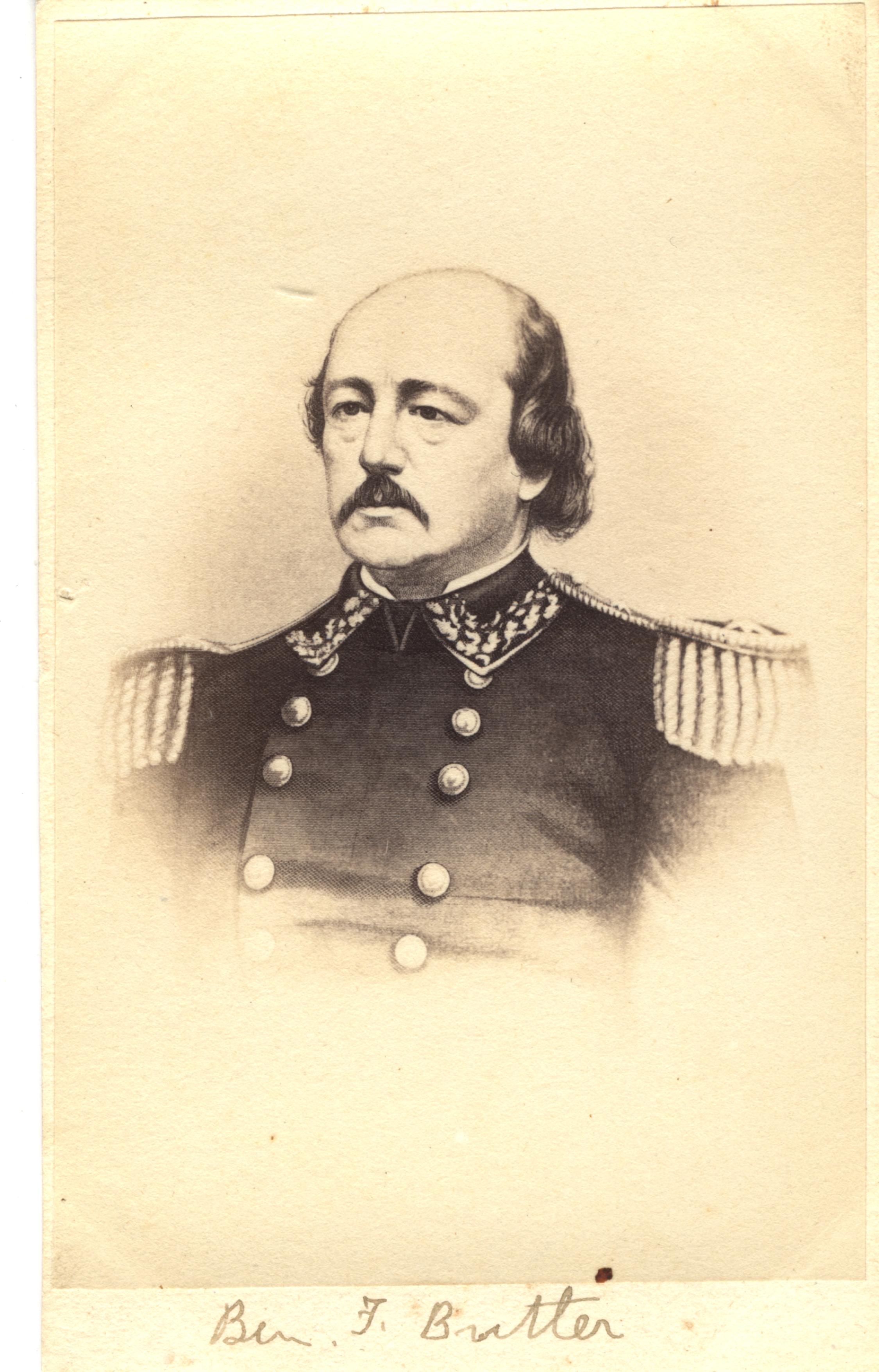 Benjamin F. Butler, circa 1860s