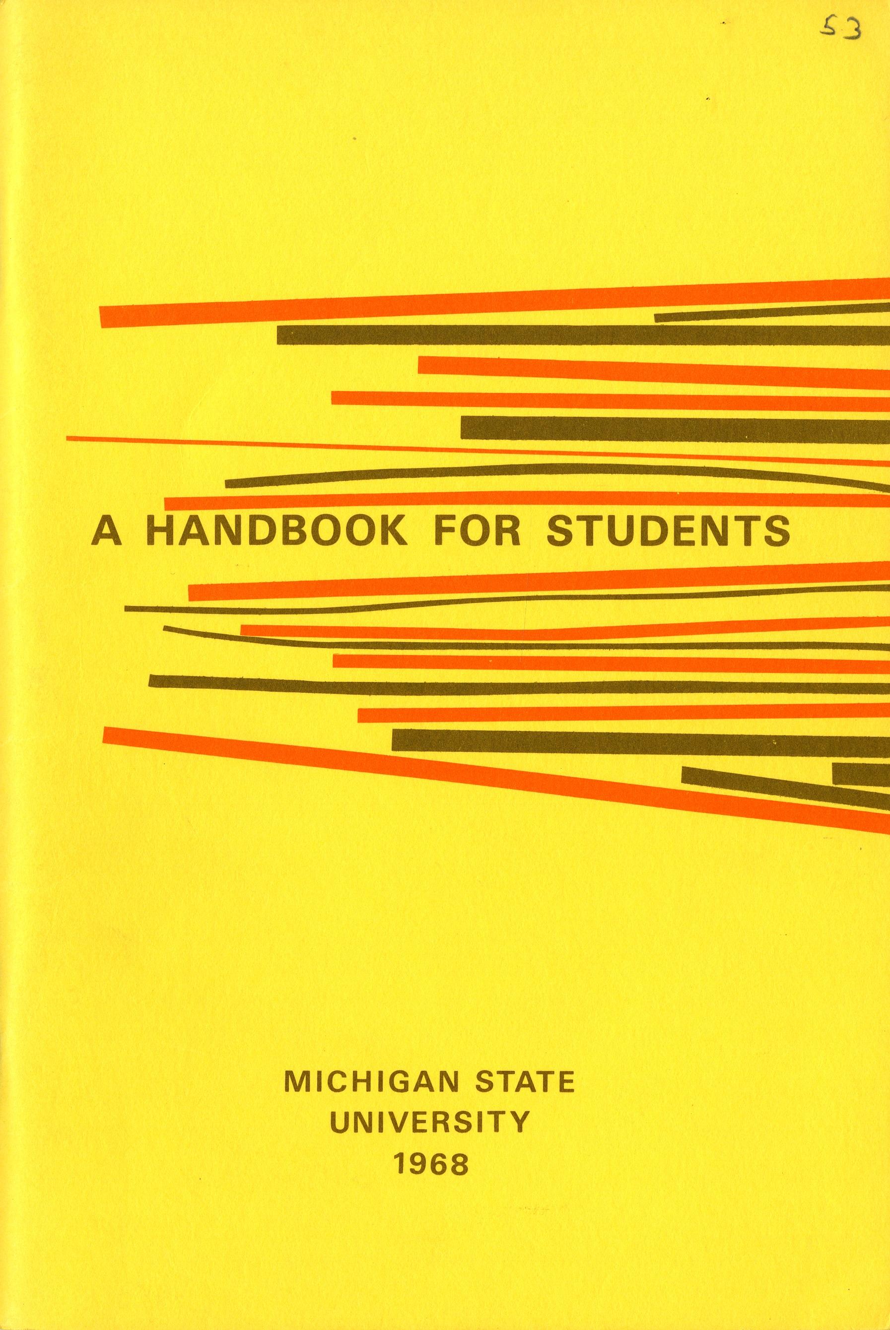 Student Handbook, 1968