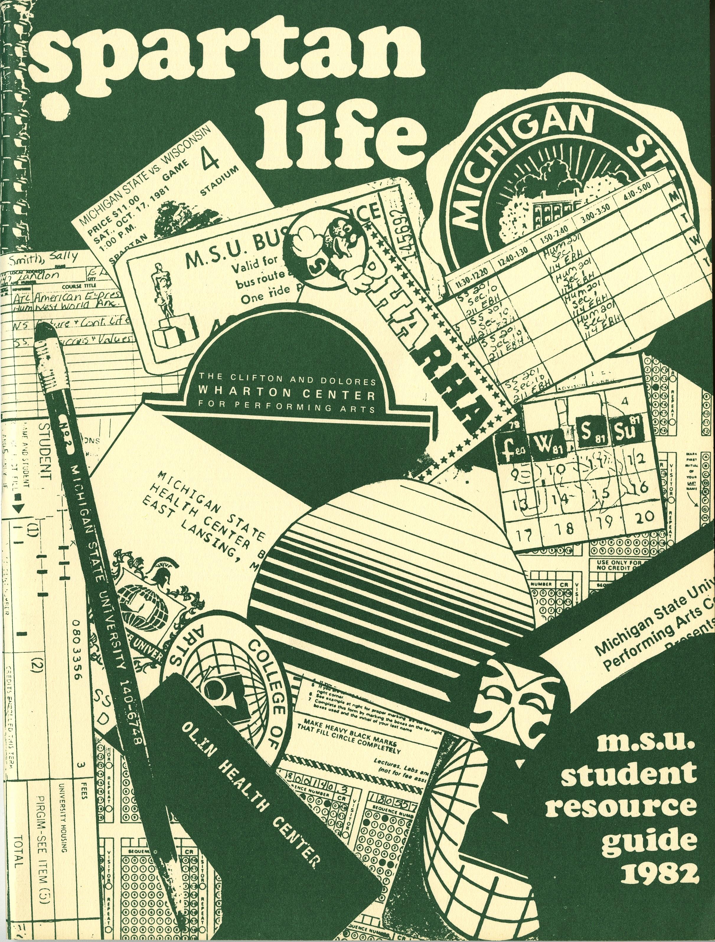 Student Handbook, 1982