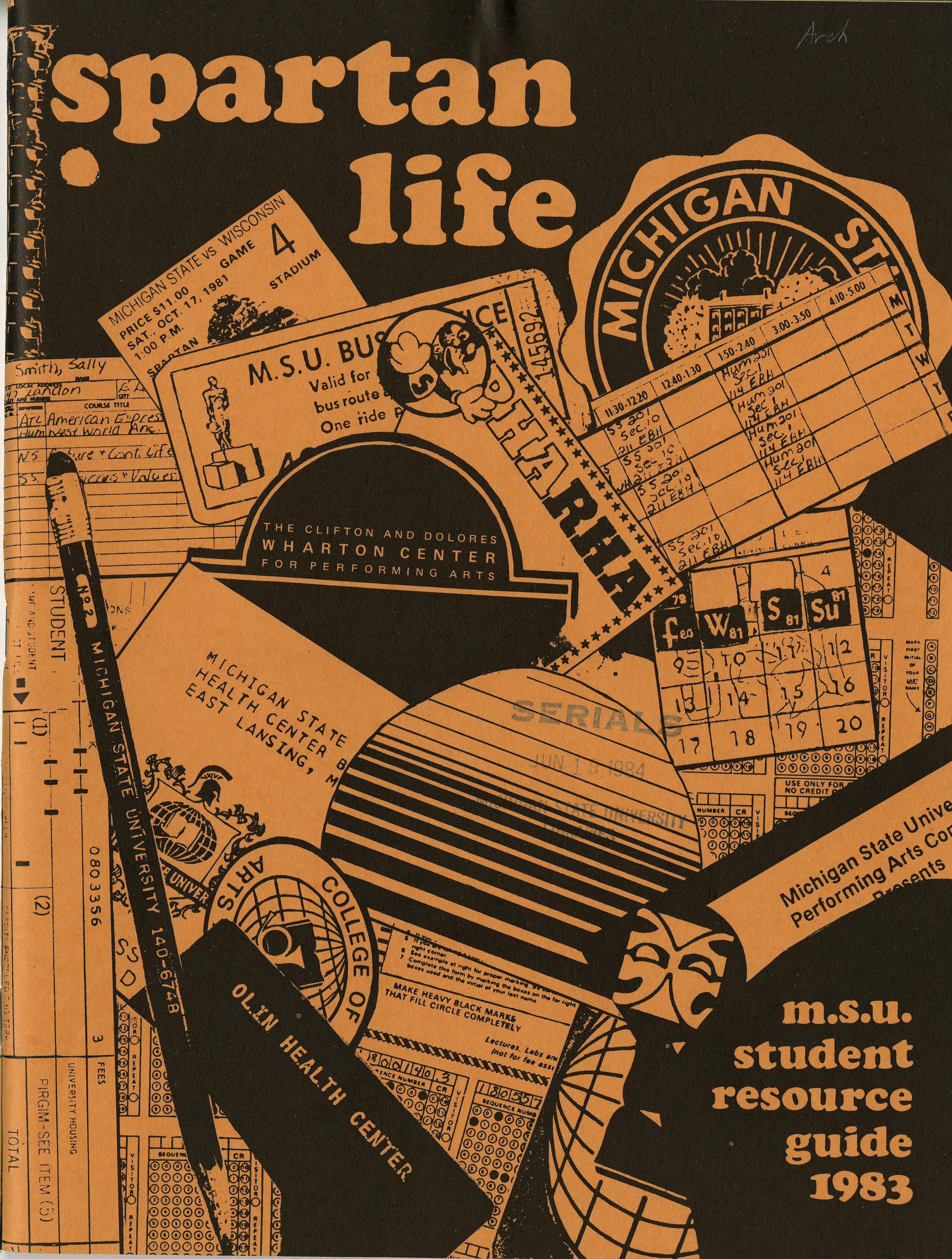 Student Handbook, 1983