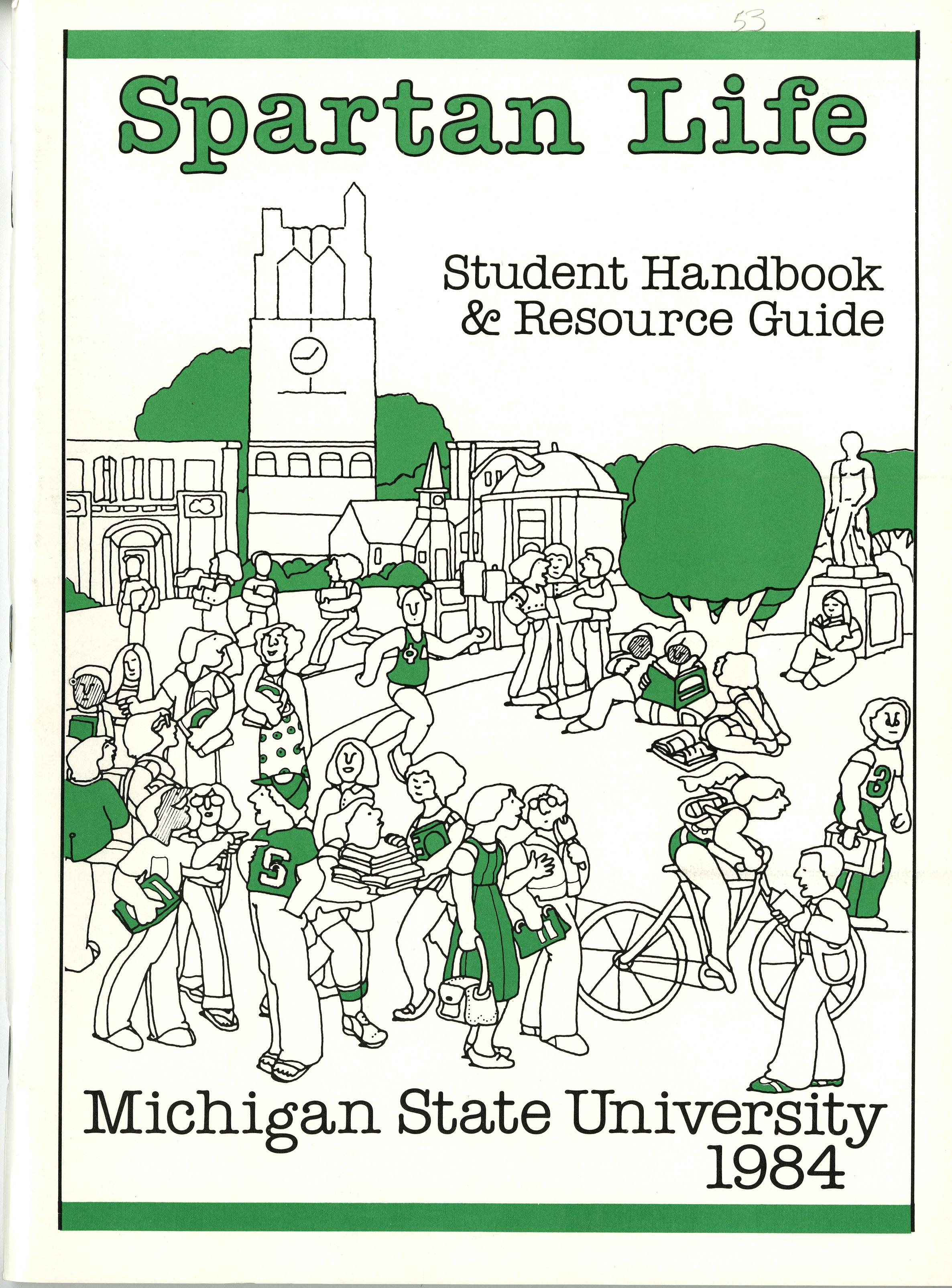 Student Handbook, 1984