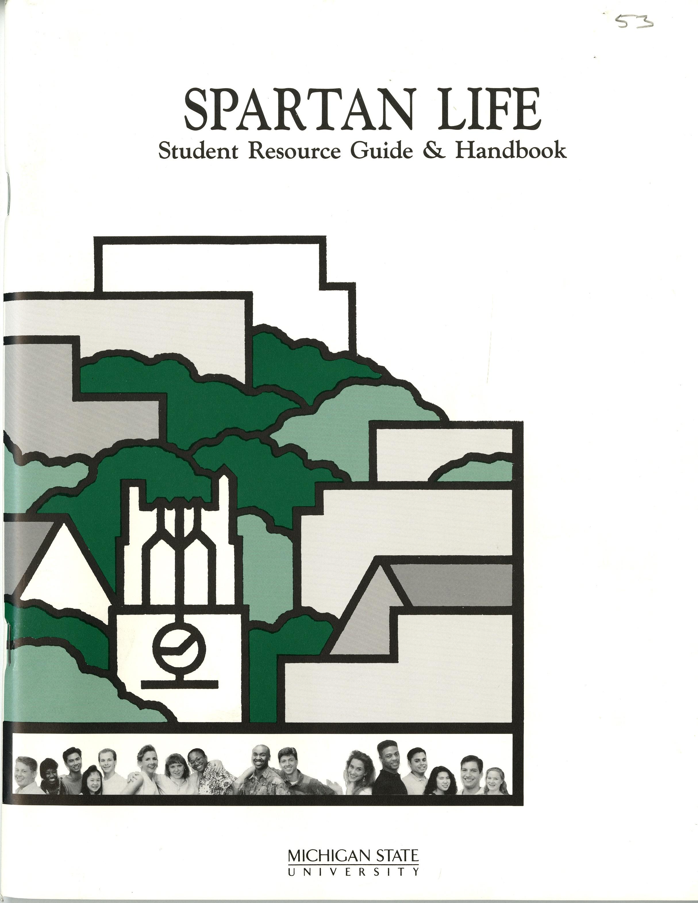 Student Handbook, 1993