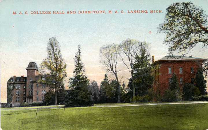 College Hall and Dormitory
