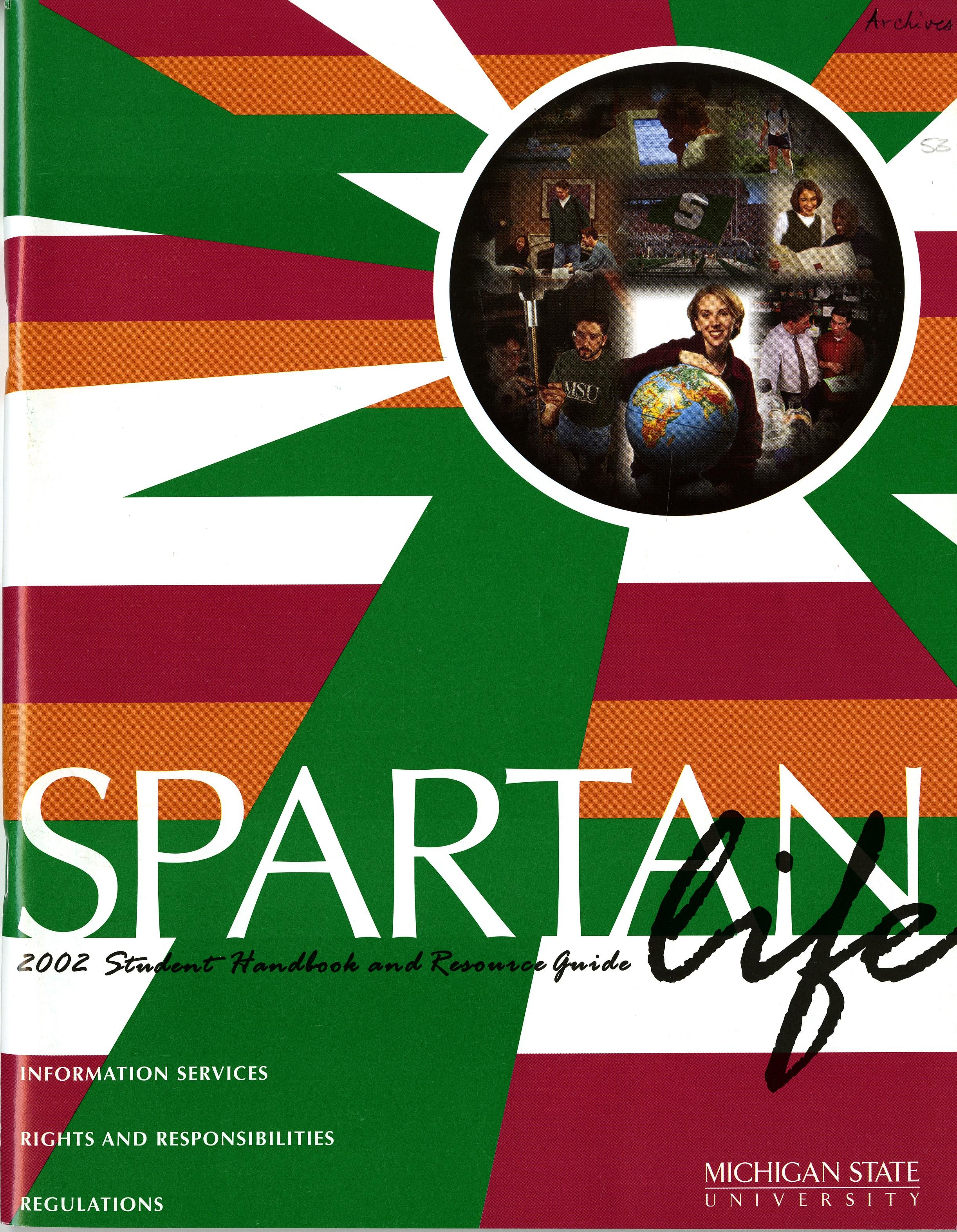 Student Handbook, 2002