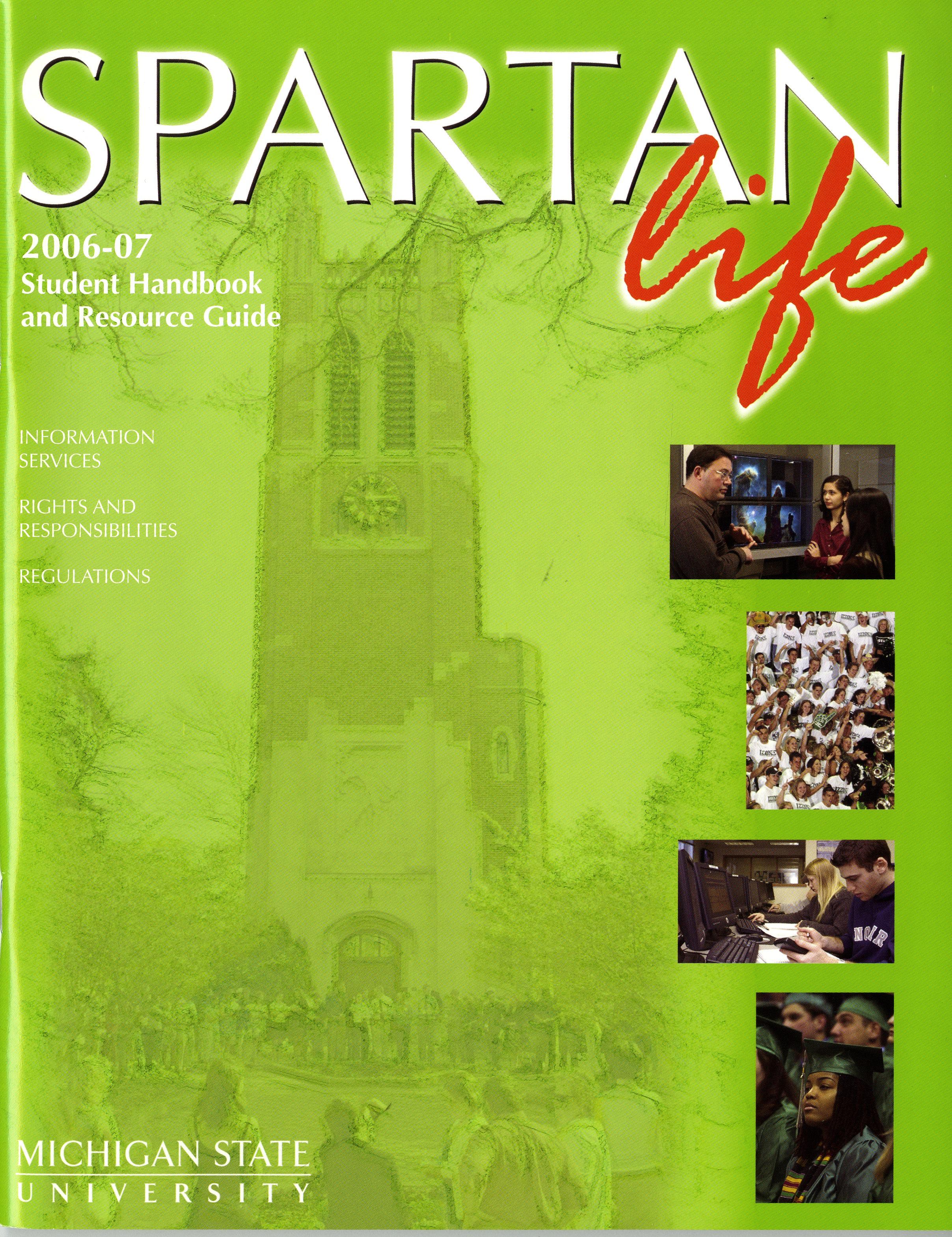 Student Handbook, 2006-2007