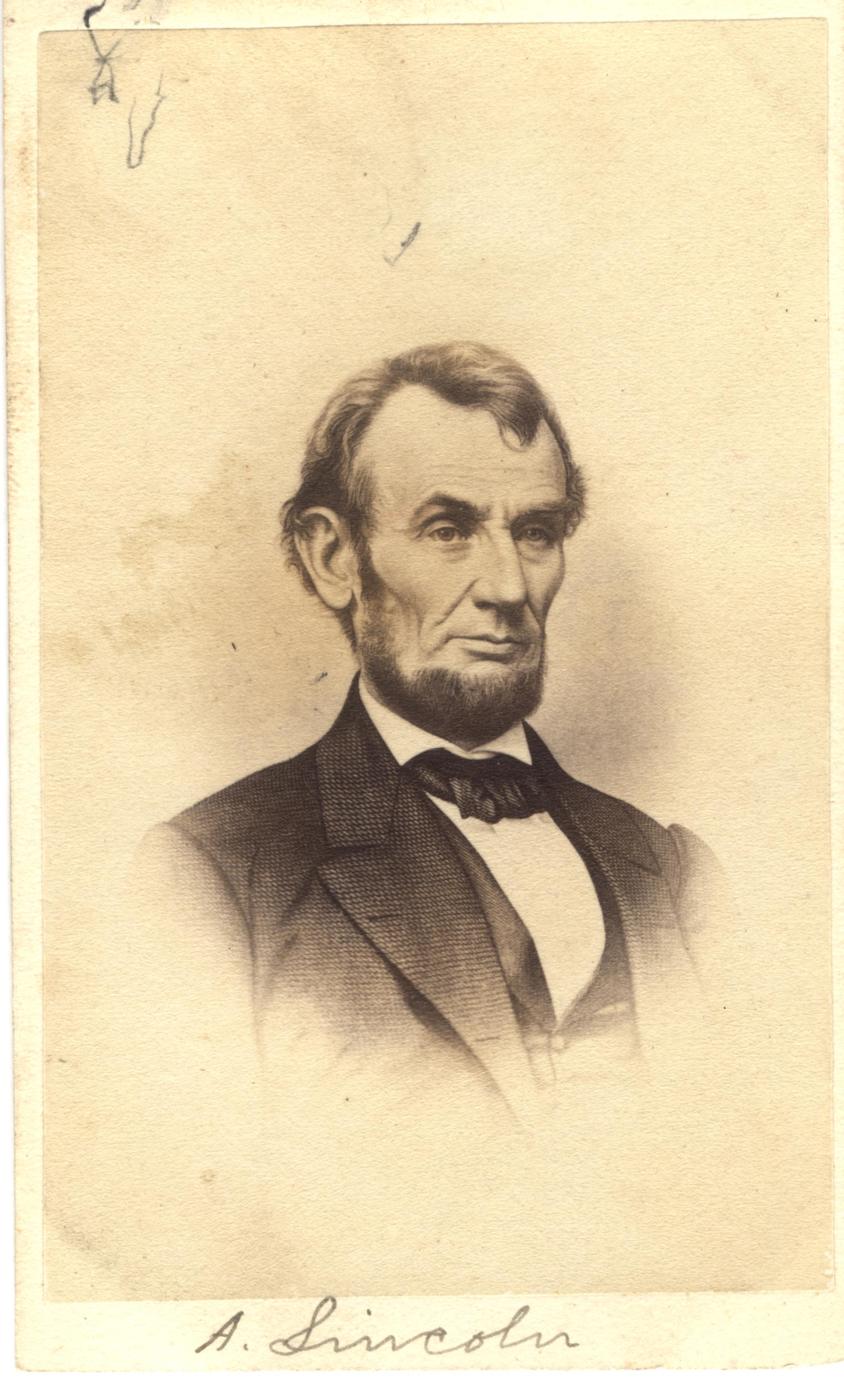 Abraham Lincoln, circa 1860s
