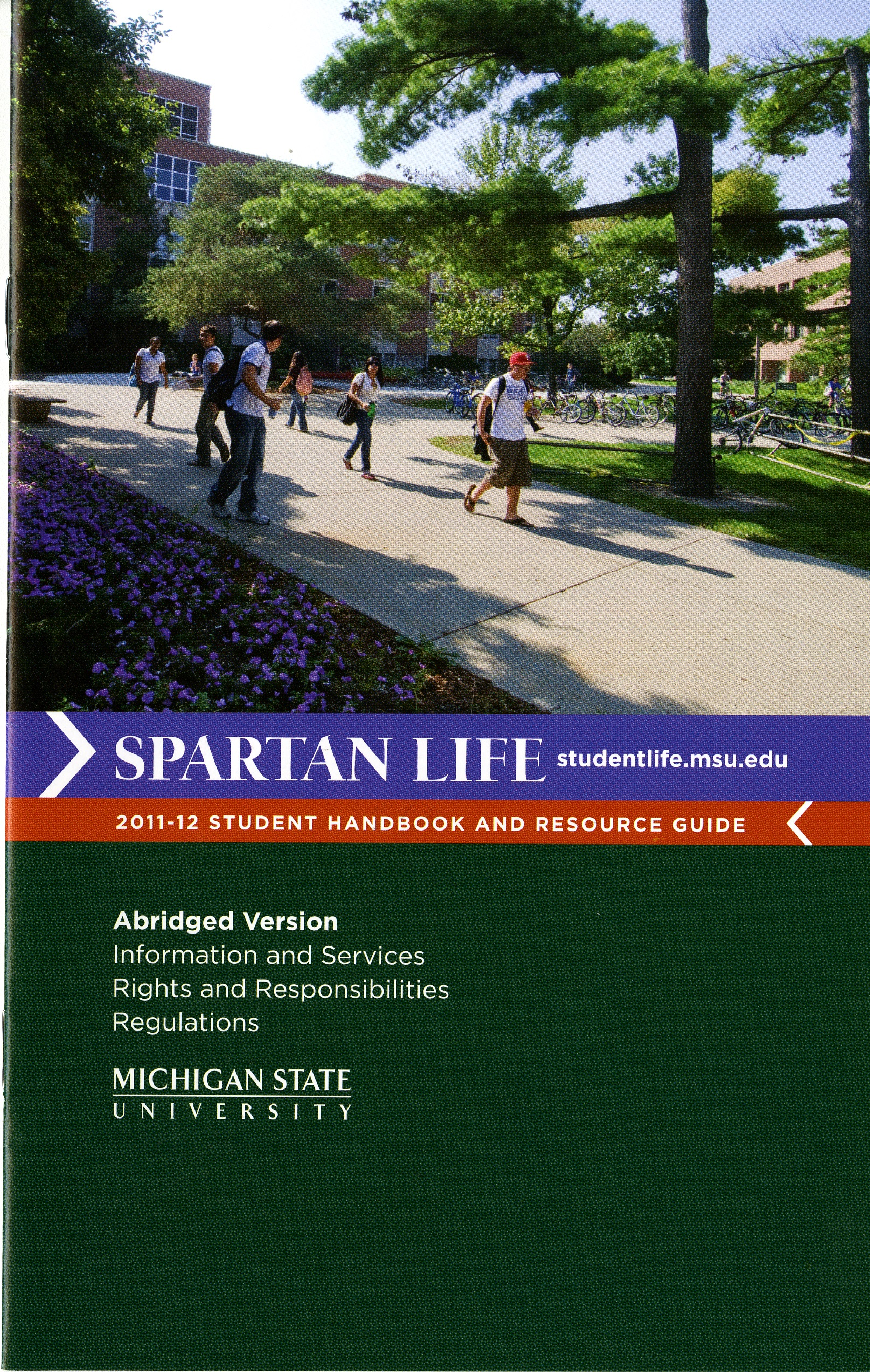 Student Handbook (Abridged), 2011-2012