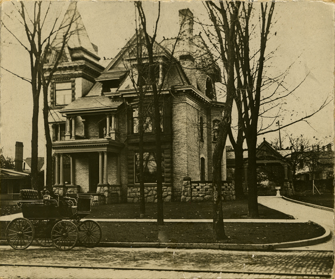 Edward Sparrow House, Lansing, Michigan, 1897