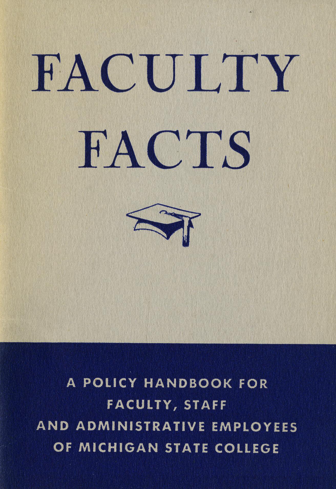 Faculty Handbooks, 1940-1949