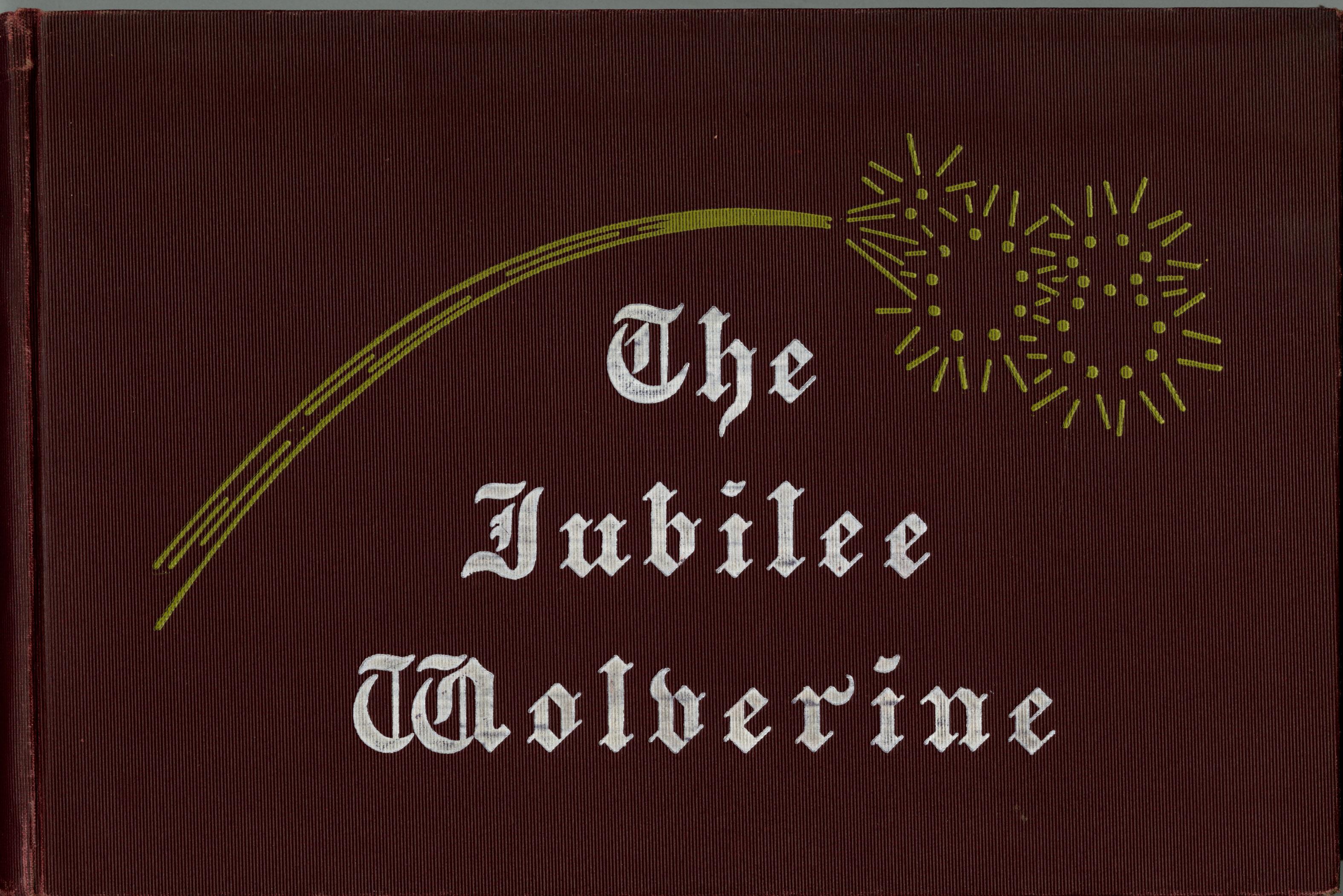 MSU Yearbook - Jubilee Wolverine, 1907
