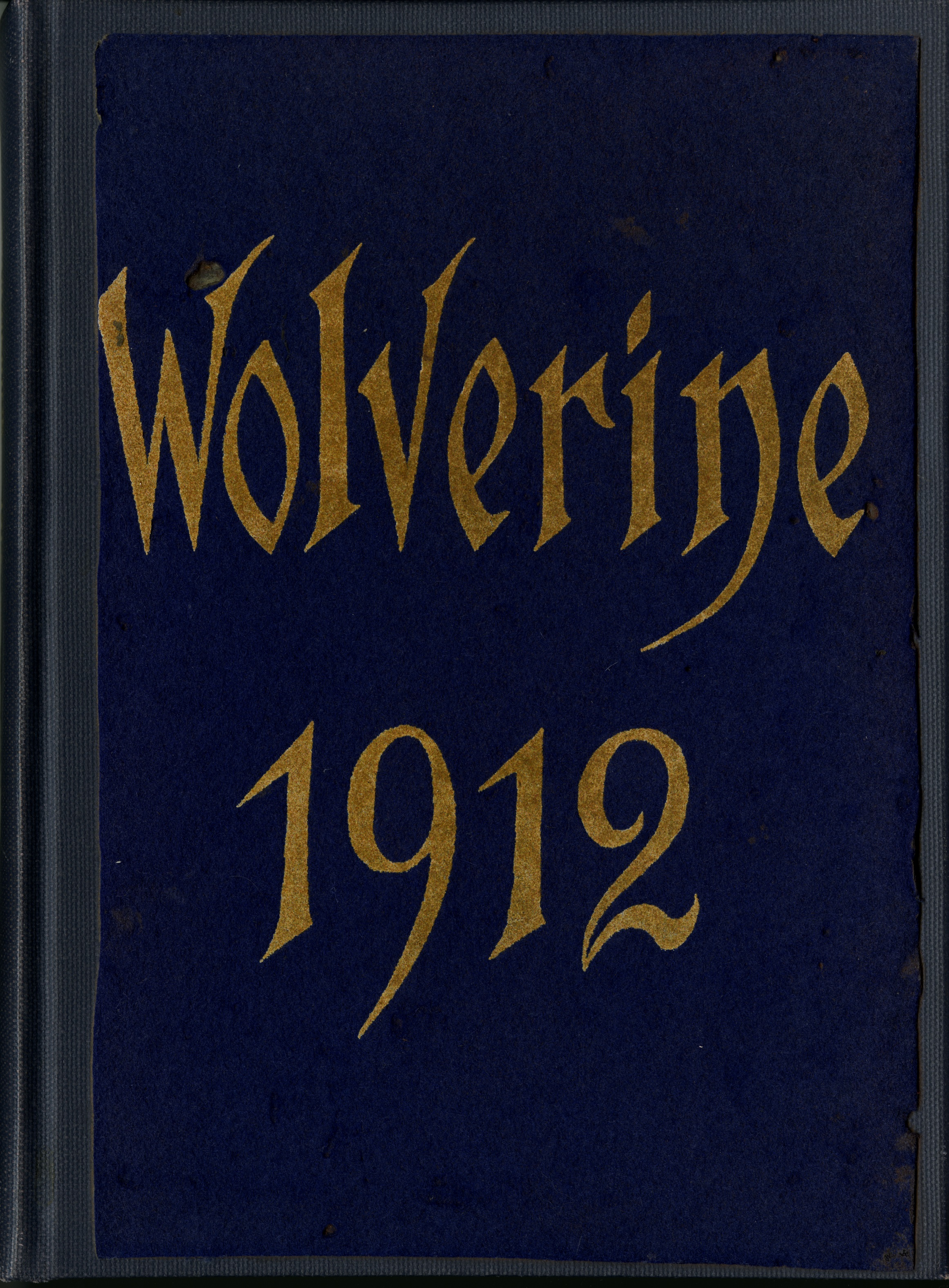 MSU Yearbook, 1912