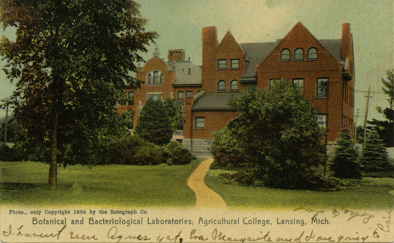 Botanical and Bacteriological Laboratories, 1904