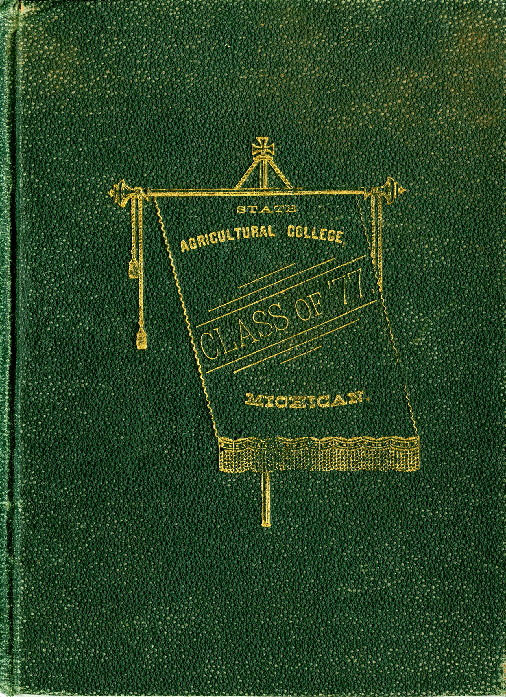 MSU Yearbook - Class Photo Album, 1877