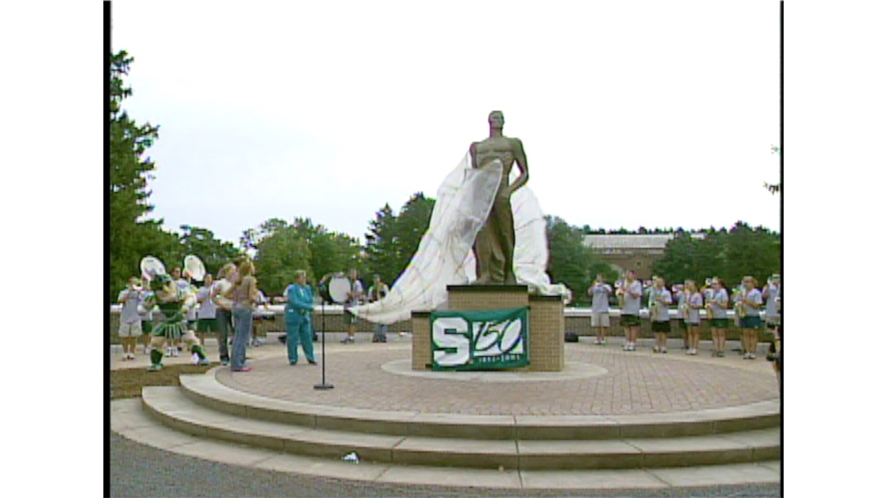 Bronze Spartan Statue Unveiling, 2005