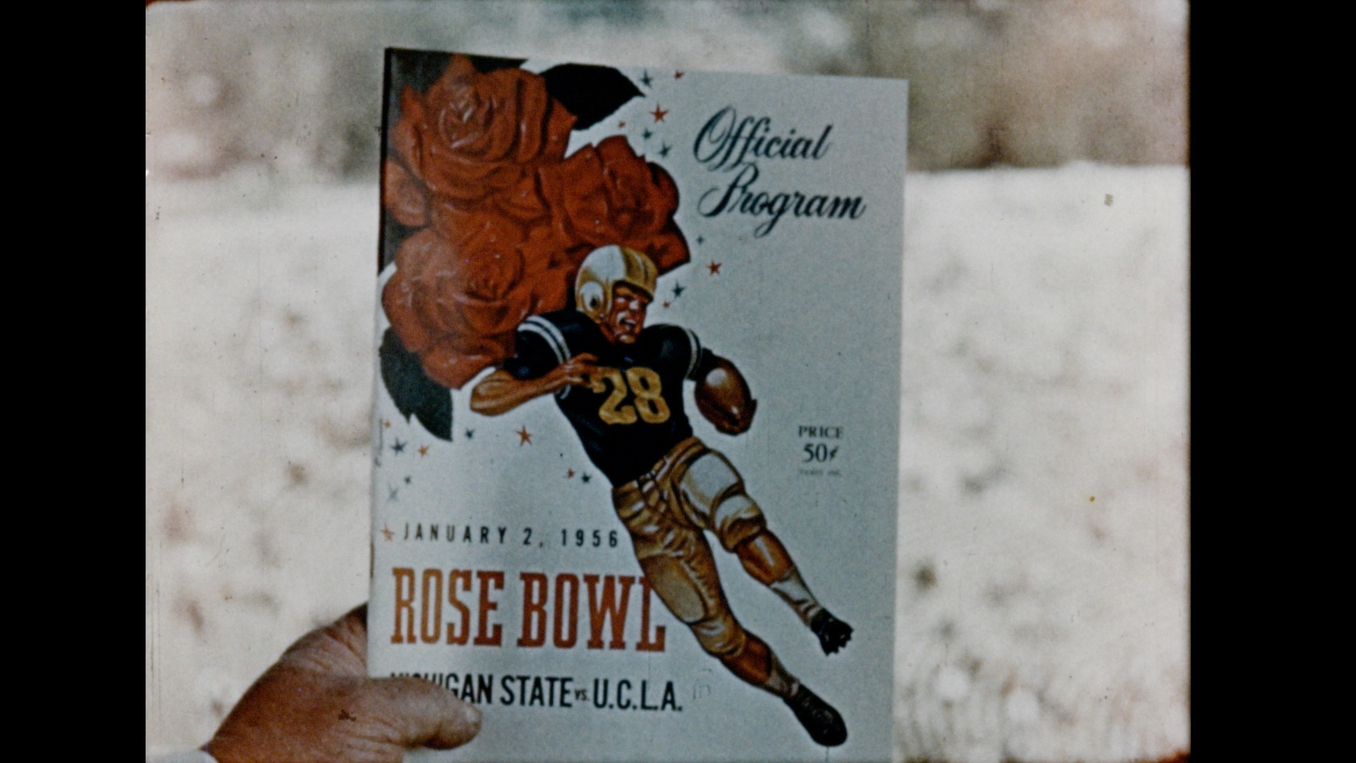 Rose Bowl - Bob Shackleton Narration, 1956