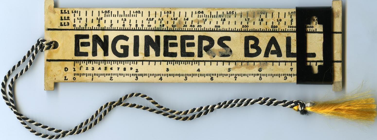 Engineers Ball dance card, 1939