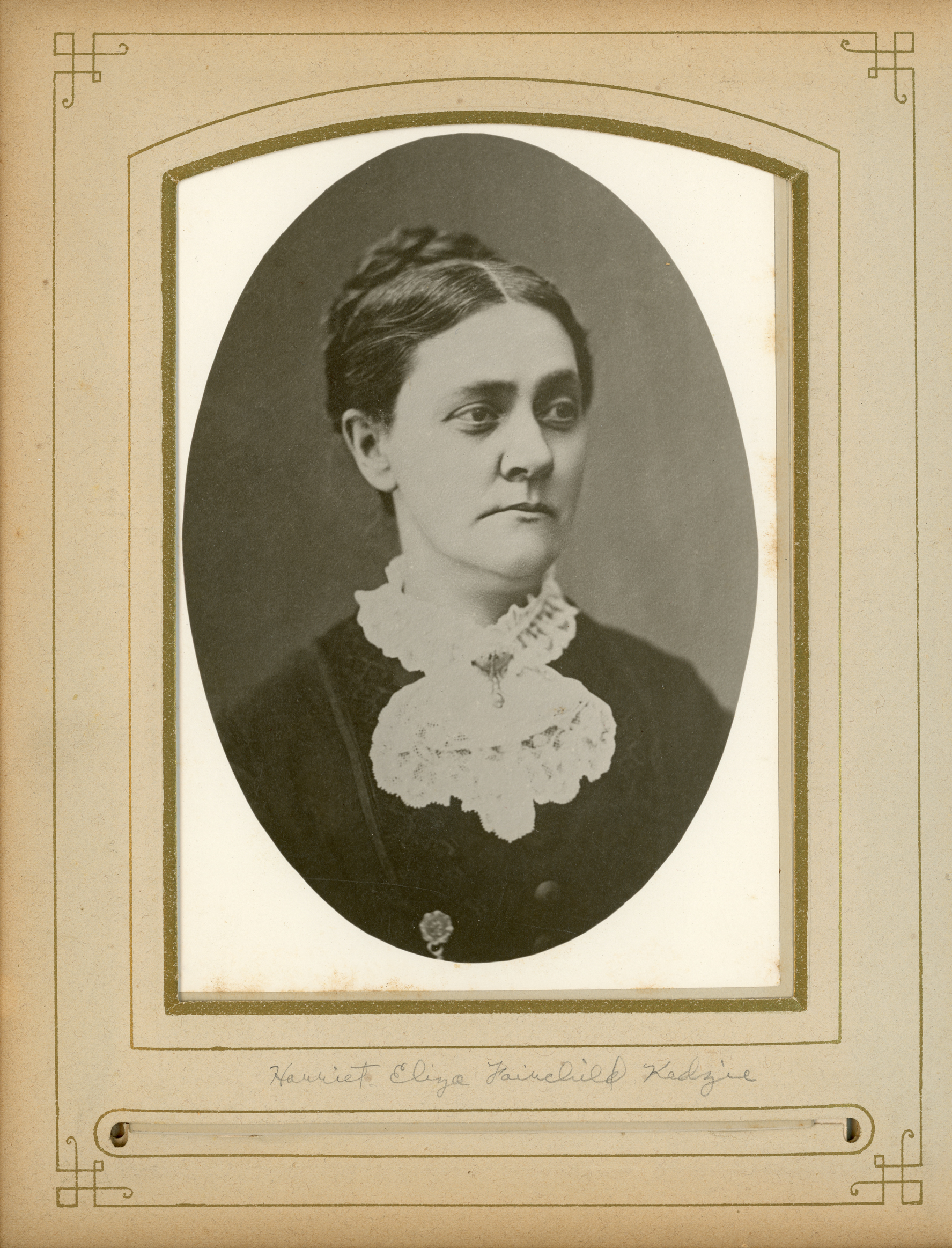 Harriet Eliza Fairchild Kedzie, undated