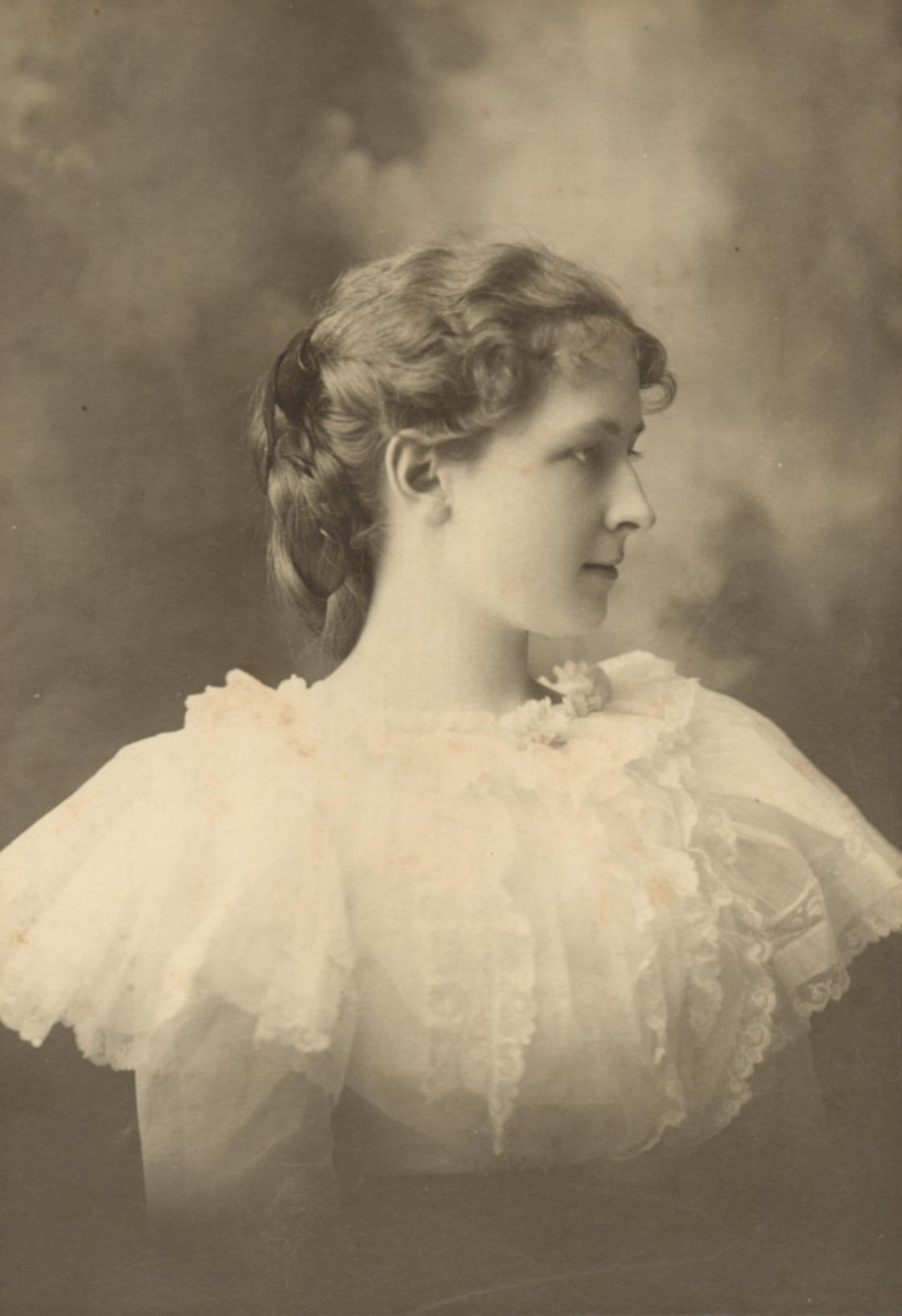 Ella Pearl Kedzie Plant, 1898