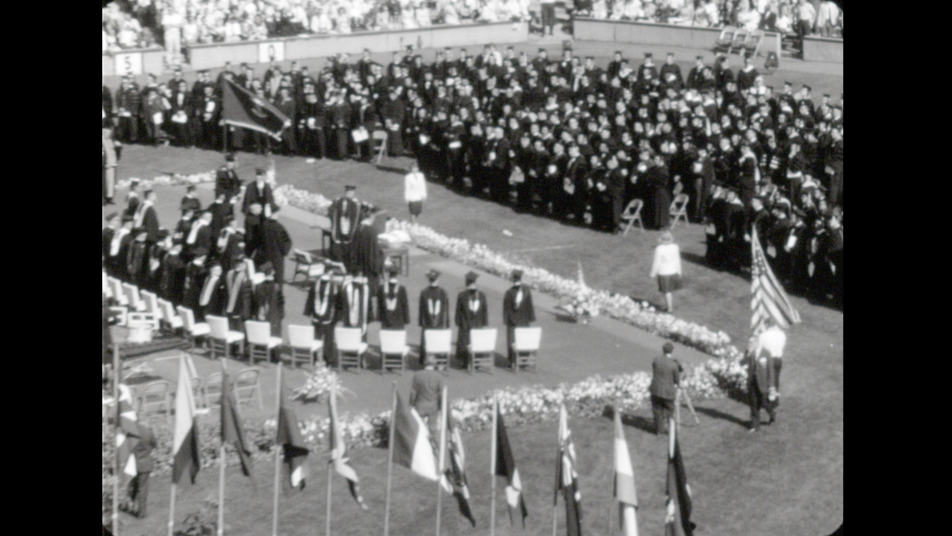 Commencement, Spring 1965