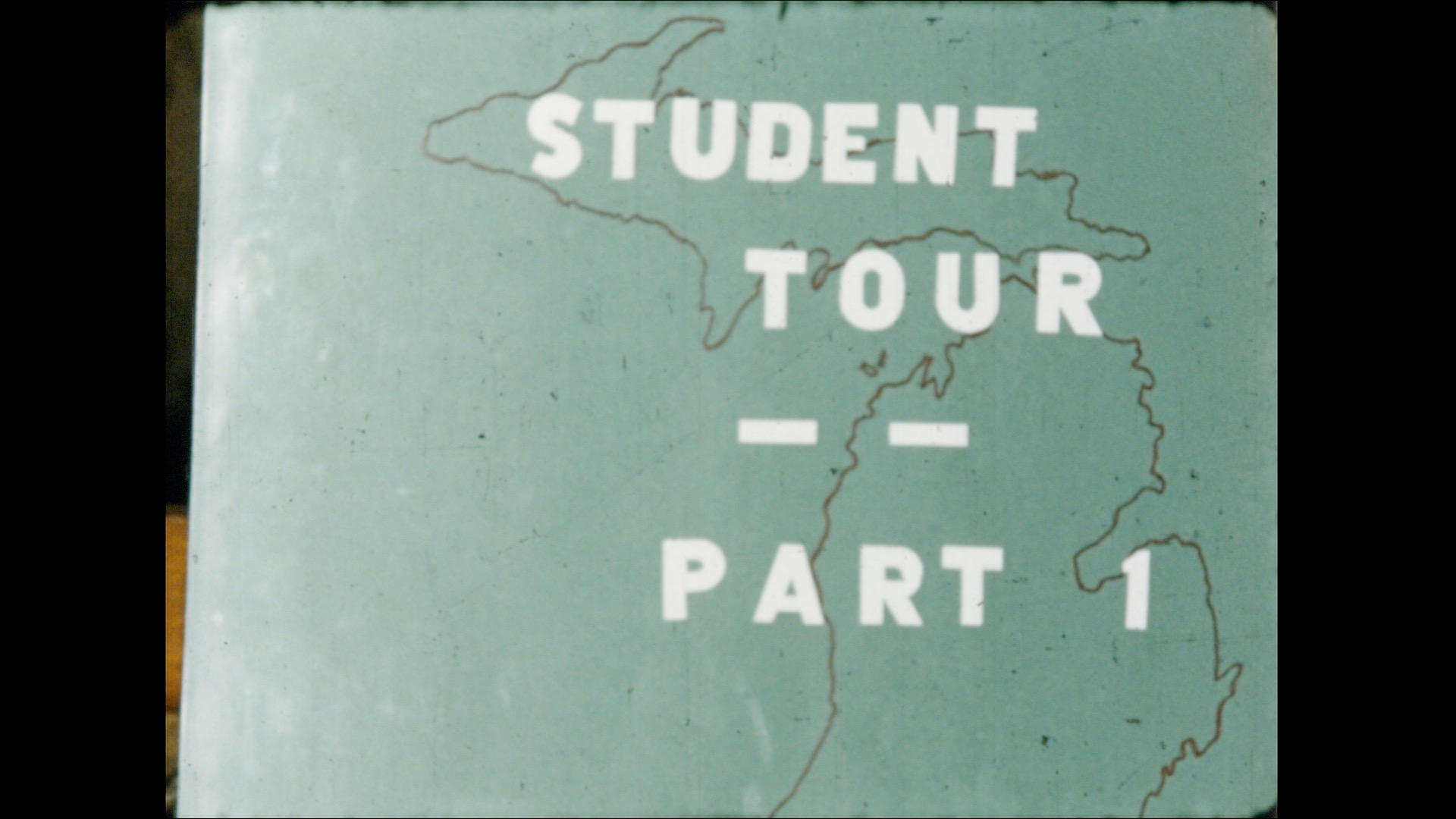 Student Tour and Rose Parade, 1956