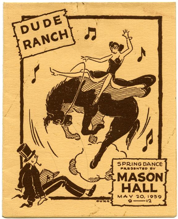 Mason Hall Spring Dance, May 20, 1939