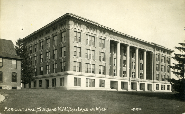 Agriculture Hall, undated