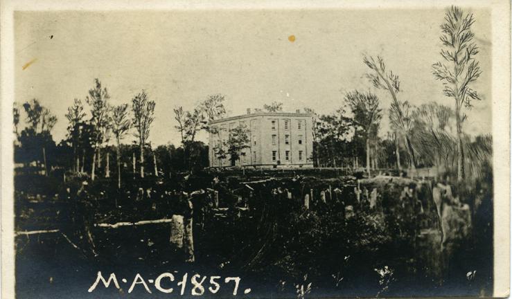 College Hall, 1857