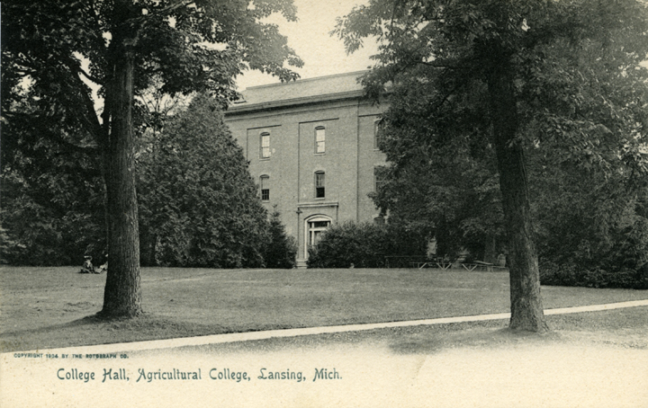 College Hall, ca. 1904
