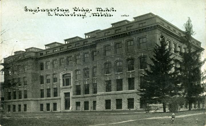 Engineering Building, circa 1911