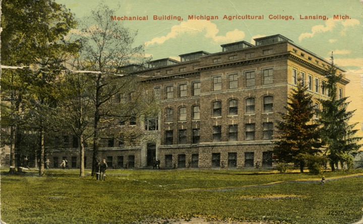 Engineering Building, circa 1915