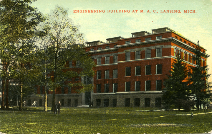 Engineering Building, circa 1911